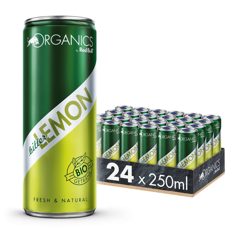 Organics by Red Bull Tonic Water Dosen Bio, 24er Palette, EINWEG (24 x 250 ml)