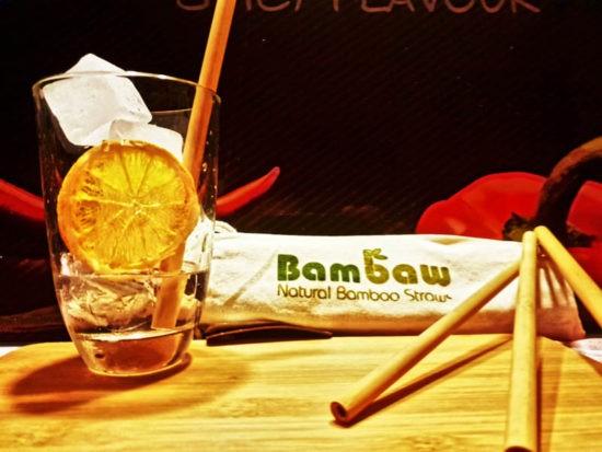 Bambus-Trinkhalme von Bambaw