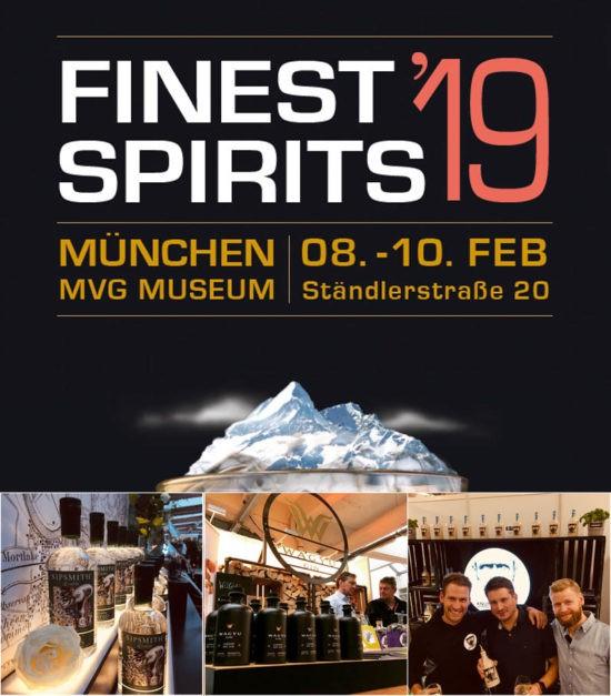 Ginvasion auf der Finest Spirits 2019 in München