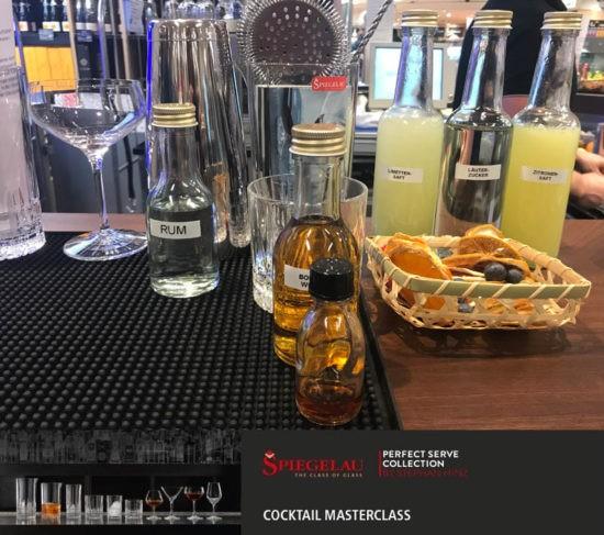 ginvasion bei der Cocktail Masterclass von Spiegelau