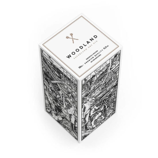 Woodland Sauerland Dry Gin limited Edition IMMH – DesignYourPackaging