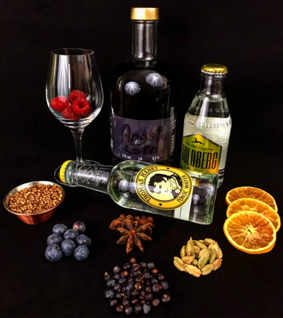 Angst Gin von der Sylter Likörwerkstatt