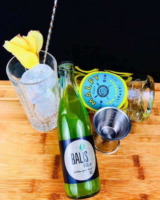 BALIS – Basilikum-Ingwer-Drink