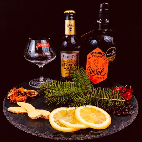 Premium Taunus Ursel Dry Gin – Dark Forest