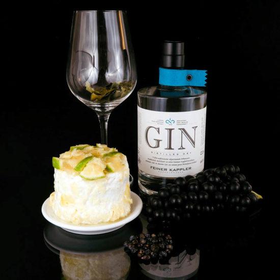 Feiner Kappler Dry Gin trifft auf Käse