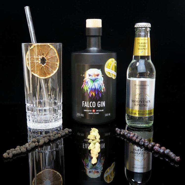 Falco Gin aus der Schweiz im Review auf ginvasion.de, dem deutschen Gin Blog