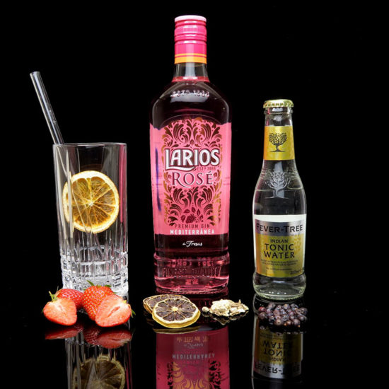 Larios Rosé Gin Mediterránea