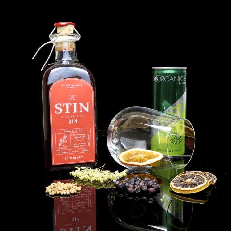 STIN Gin Sloeberry im Review auf ginvasion.de