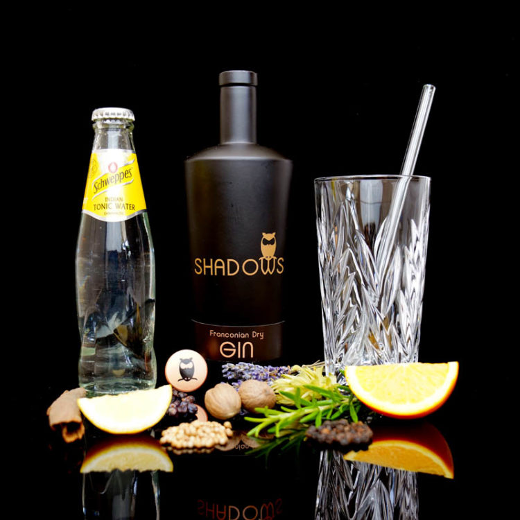 Shadows Franconian Dry Gin im Review auf ginvasion.de