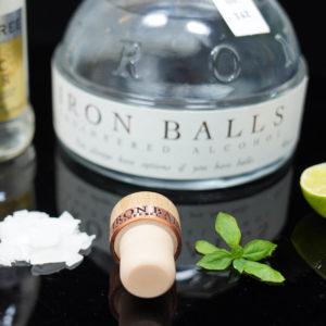 Der Korken vom Iron Balls Gin auf ginvasion.de