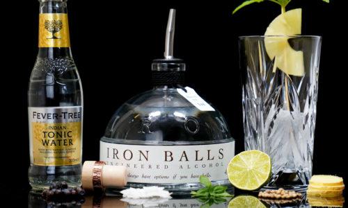 Der Iron Balls Gin im Review auf ginvasion.de
