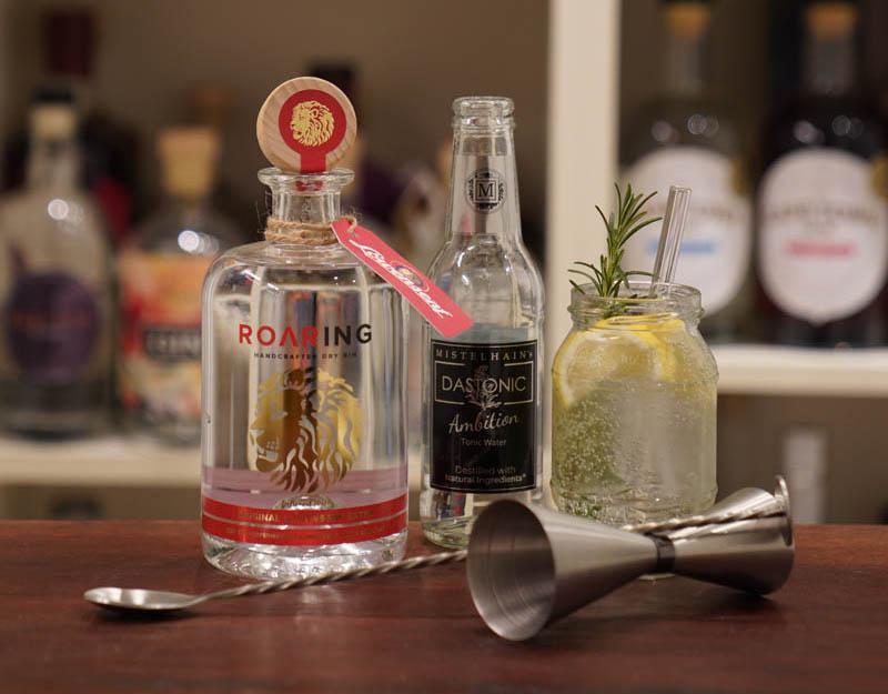 Der Roaring Gin im Review auf ginvasion.de - Drink