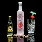 Der Santamania Craft Cherry Gin im Review auf ginvasion.de