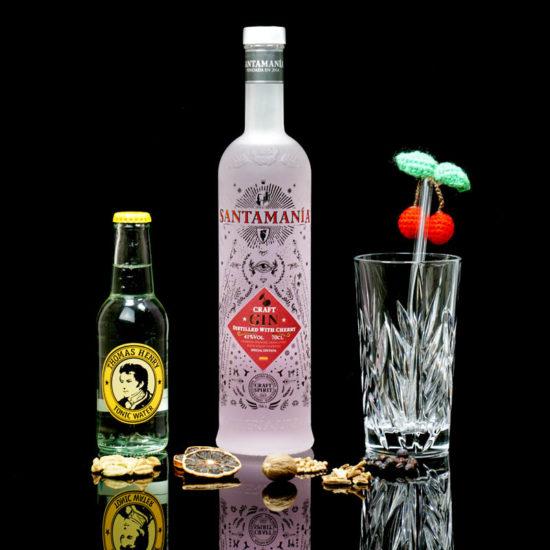 Santamania Craft Cherry Gin