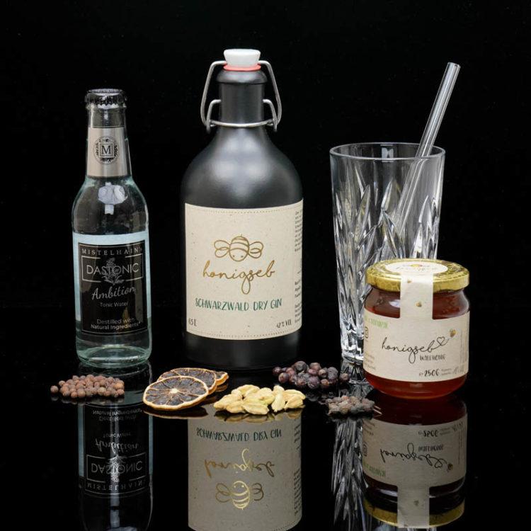 Der Honigseb Schwarzwald Dry Gin im Review auf ginvasion.de