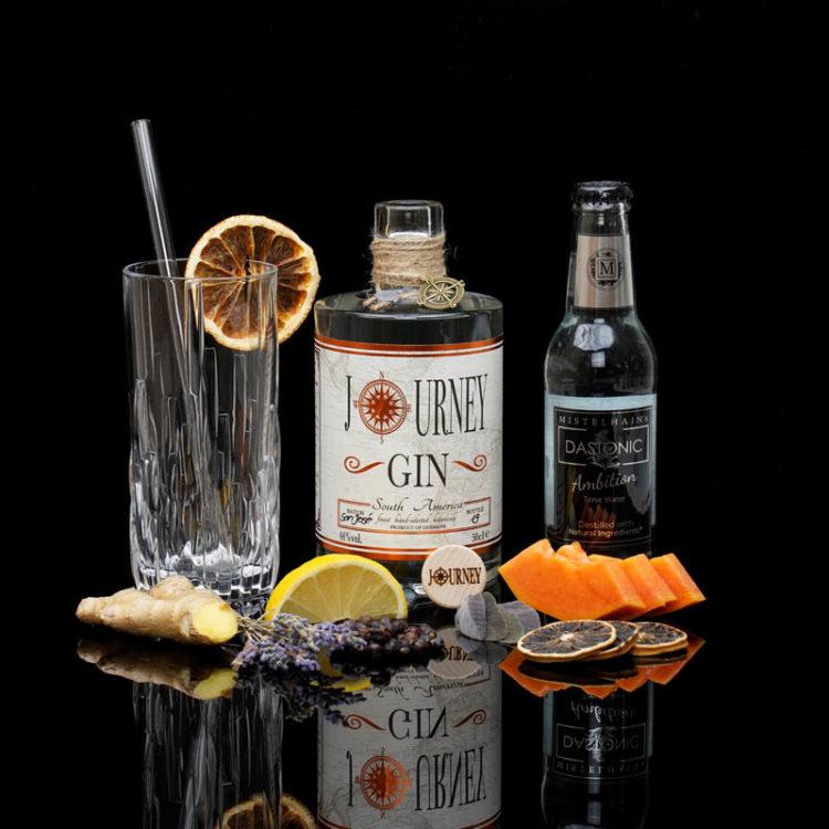 Journey Gin South America im Review auf ginvasion.de