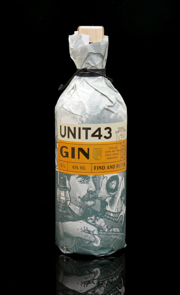 Der Unit 43 Gin im Review auf ginvasion.de