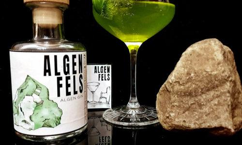 Der Algenfels Gin im Review auf ginvasion.de