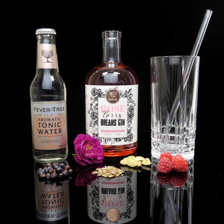 Der Breaks Rose Berry Gin im Review auf ginvasion.de