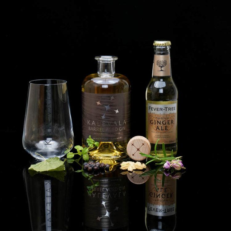 Der Kalevala Barrel Aged Gin im Review auf ginvasion.de