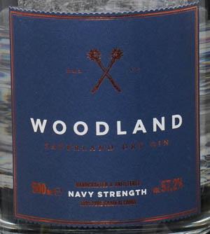 Der Woodland Navy Strength Gin im Review auf ginvasion.de