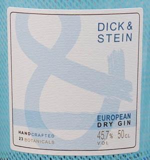Der Dick und Stein Gin im Review auf ginvasion.de