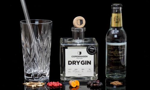 Der Copenhagen Dry Gin im Review auf ginvasion.de