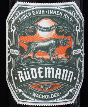 Der Rüdemann Wacholder im Review auf ginvasion.de