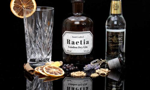 Der Raetia London Dry Gin im Review auf ginvasion.de