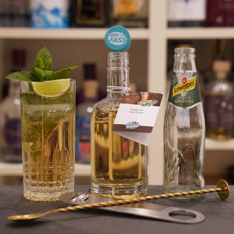 Der Longwood 17 cask aged Gin im Review auf ginvasion.de