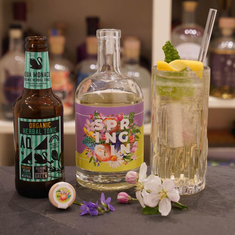 Der Wajos Spring Gin im Review auf ginvasion.de