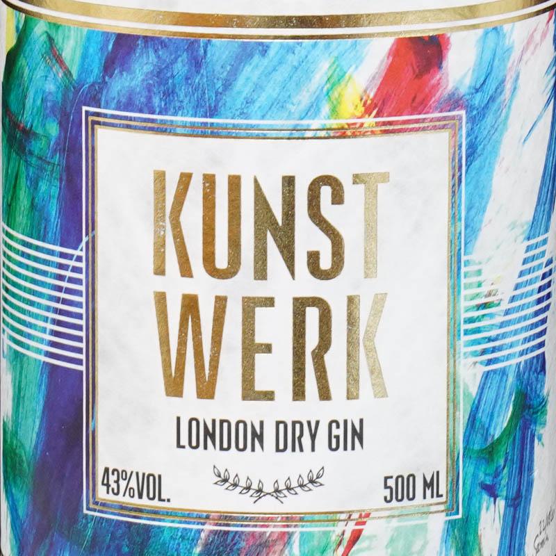 Der Kunstwerk Gin im Review auf ginvasion.de