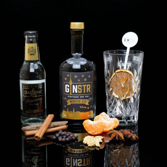 GINSTR – Stuttgart Dry Gin – Winter Edition